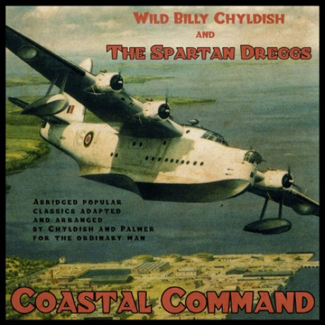 "BILLY CHILDISH & SPARTAN DREGGS ""COASTAL..."" LP"