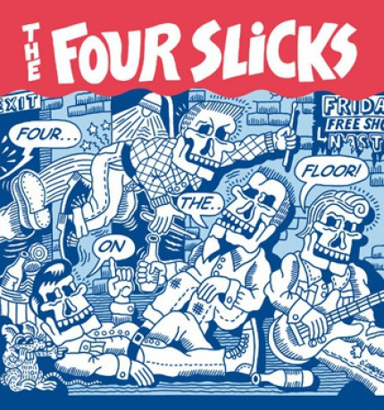 "FOUR SLICKS ""4 ON THE FLOOR"" LP"