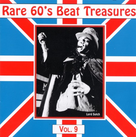 RARE 60S BEAT TREASURES VOLUME 9 CD