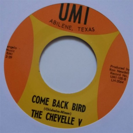 "CHEVELLE V ""COME BACK BIRD / I'M SORRY GIRL"" 7"""