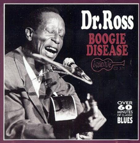 """DOCTOR ROSS """"BOOGIE DISEASE"""" CD"""