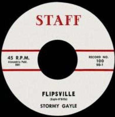 """STORMY GALE """"FLIPSVILLE/I'LL WAIT AROUND"""" 7'"""
