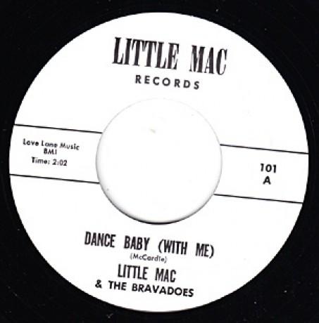 "LITTLE MAC ""DANCE BABY/CINDERELLA"" 7"""