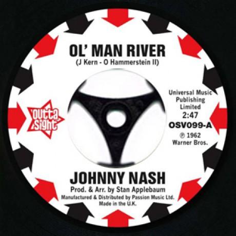 "JOHNNY NASH ""Ol' Man River / I Lost My Baby"" 7"""