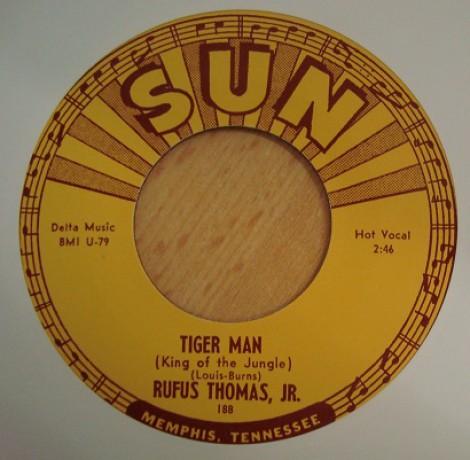 """RUFUS THOMAS """"TIGER MAN / SAVE THAT MONEY"""" 7"""""""