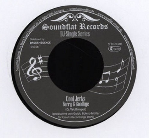 "COOL JERKS / PSYCHO DAISY ""DJ SINGLE"" 7"""