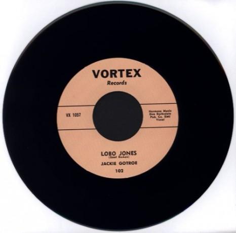 "JACKIE GOTROE ""Lobo Jones / Don't Treat Me This Way"" 7"""