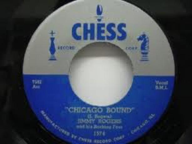 "JIMMY ROGERS ""SLOPPY DRUNK/CHICAGO BOUND"" 7"""