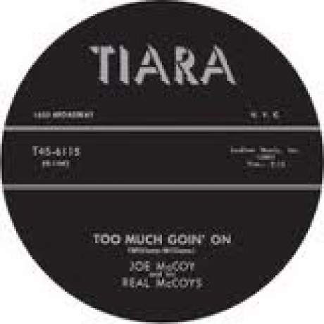 "Joe McCoy & His Real McCoys ""Hey Hey Loretta/Too Much Goin' On"" 7"""