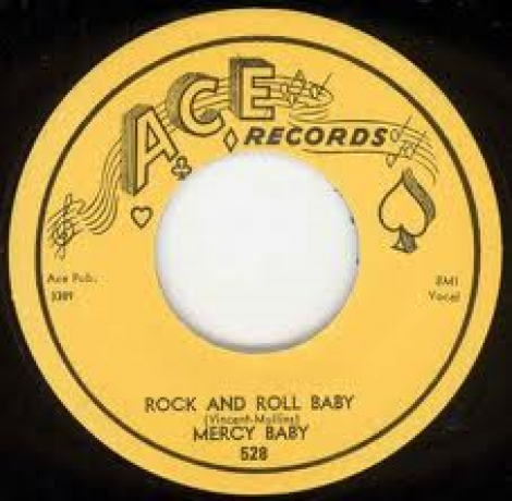 """MERCY BABY """"ROCK AND ROLL BABY/MARKED DECK"""" 7"""""""