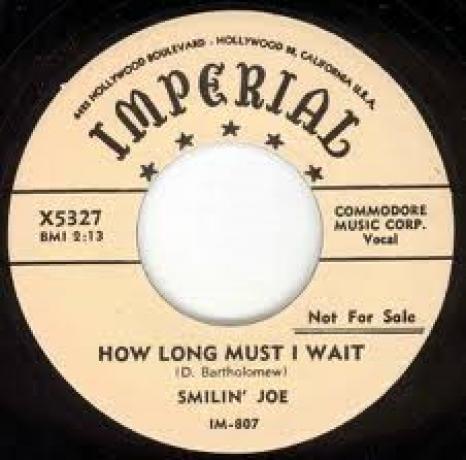 """SMILIN JOE """"SLEEPWALKING WOMAN/HOW LONG MUST I WAIT"""" 7"""""""