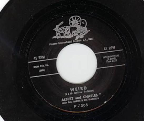 """ALBERT & CHARLES """"WEIRD / LIESHA"""" 7"""""""