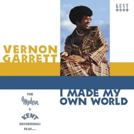 "VERNON GARRET ""I MADE MY OWN WORLD"" CD"