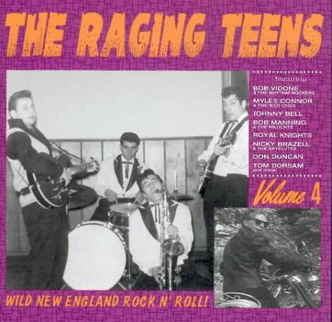 RAGING TEENS Volume 4 CD