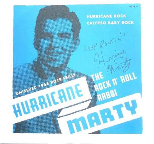 """HURRICANE MARTY """"Hurricane Rock/Calypso Baby Rock"""" 7"""""""