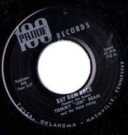 "Tommy ""Jim"" Beam & Four Fifths ""Bay Rum Rock/Dried Eyed Baby"" 7"""