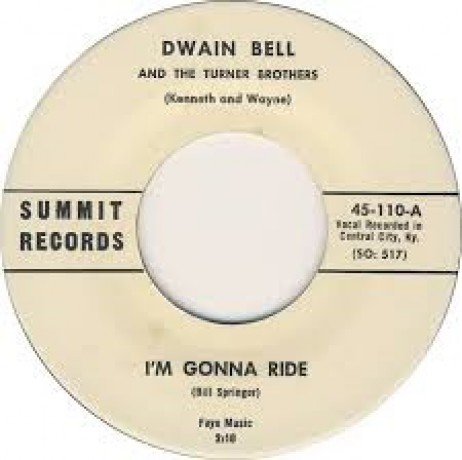 "DWAIN BELL ""Rock And Roll On A Saturday Night/ I'm Gonna Ride"" 7"""