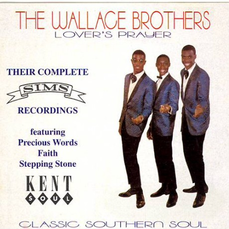 """WALLACE BROTHERS """" LOVER'S PRAYER"""" CD"""