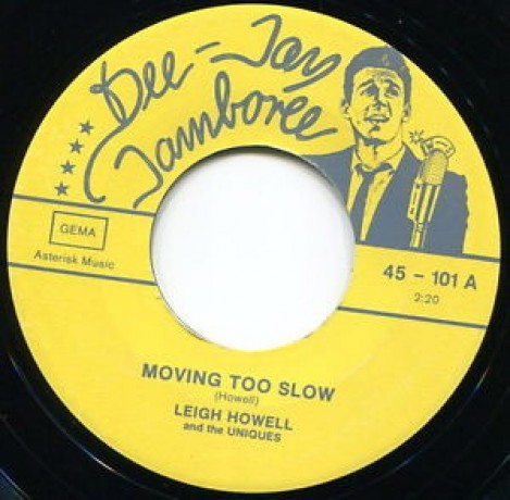 "Leigh Howell & The Uniques ""Moving Too Slow/Listen To My Heart"" 7"""