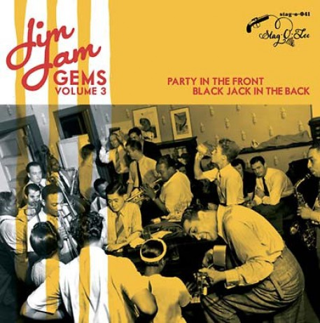 """JIM JAM GEMS """"Volume 3: Party In The Front, Black Jack In The Back"""" 10"""""""
