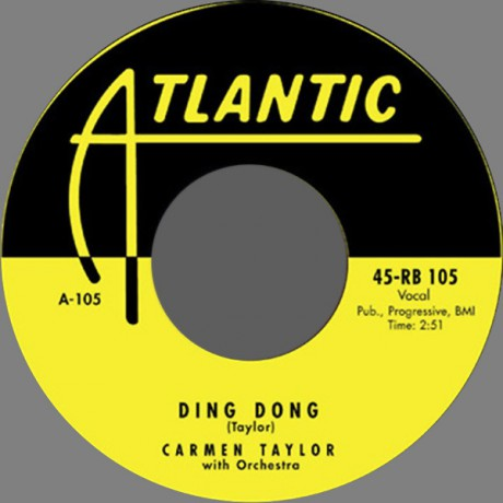"""CARMEN TAYLOR """"Ding Dong / Big Mamou Daddy"""" 7"""""""