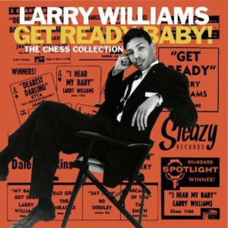 "LARRY WILLIAMS ""Get Ready Baby! The Chess Collection"" 10"""