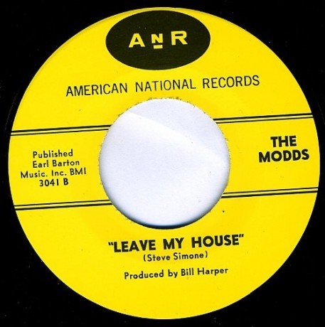 """MODDS """"LEAVE MY HOUSE/ALL THE TIME IN The World"""" 7"""" repro"""