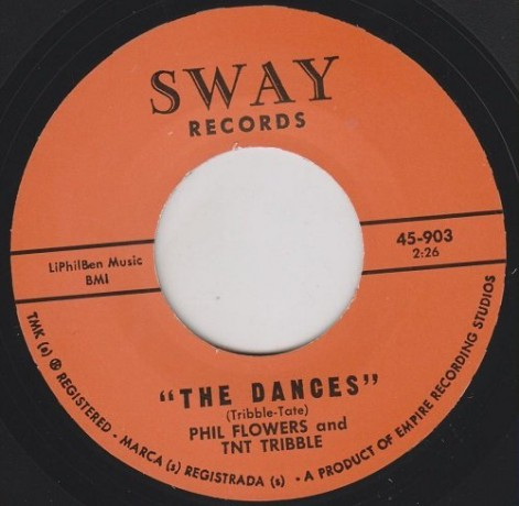 PHIL FLOWERS THE DANCES / NO MORE TOSSIN' AND TURNIN'