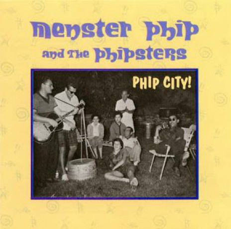 "MENSTER PHIP ""PHIP CITY"" CD"
