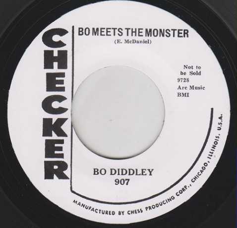 "BO DIDDLEY ""BO MEETS THE MONSTER/ WILLIE AND LILLIE"" 7"""
