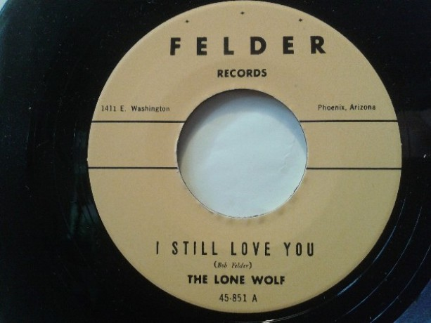 """LONE WOLF """"JUMPIN BABY / I STILL LOVE YOU"""" 7"""""""