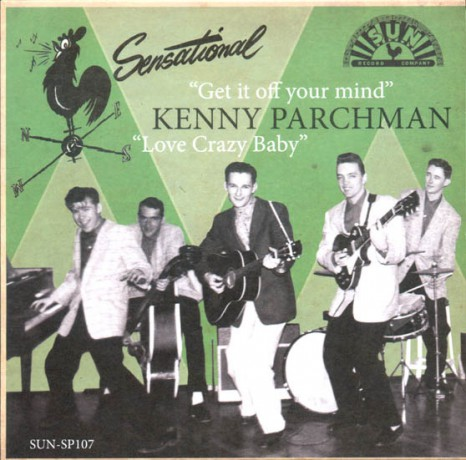 "KENNY PARCHMAN ""GET IT OFF YOUR MIND"" 7"""