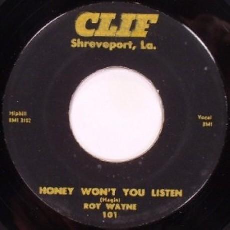 """ROY WAYNE """"ANY WAY YOU DO / HONEY WON'T YOU LISTEN"""" 7"""""""