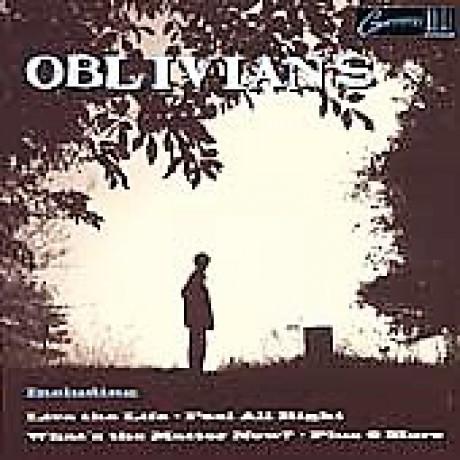 """OBLIVIANS """"PLAY 9 SONGS W/ MR.QUINTRON"""" LP"""