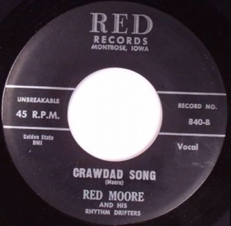 RED MOORE (& his Rhythm Drifters) Crawdad Song / I'll Miss You When You're Gone