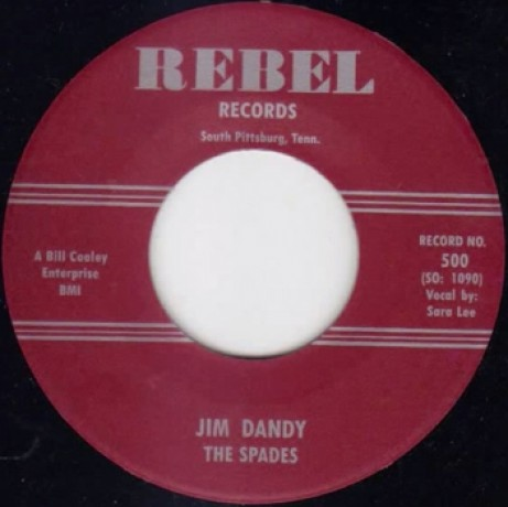 "SPADES ""JIM DANDY/HEY, HEY"" 7"""