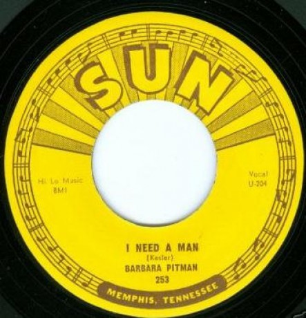 "BARBARA PITMAN ""I Need A Man / No Matter Who's To Blame"" 7"""