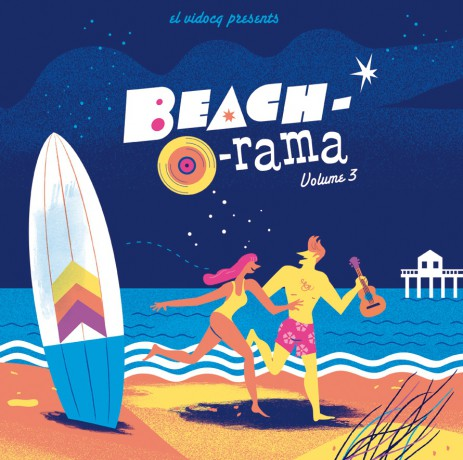BEACH-O-RAMA Volume 3 LP+CD