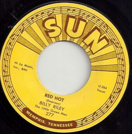 "BILLY RILEY ""RED HOT / PEARLY LEE"" 7"""