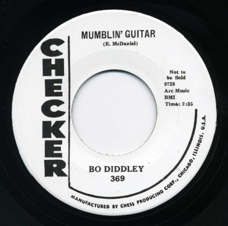 "BO DIDDLEY ""DOWN HOME SPECIAL / MUMBLIN' GUITAR"" 7"""