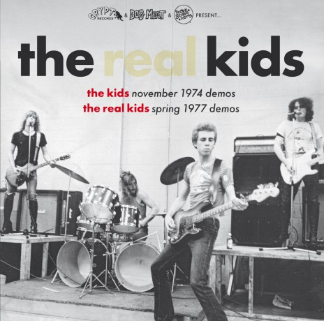 "REAL KIDS ""The Kids 1974 Demos / The Real Kids 1977 Demos"" Gatefold LP + 32 page booklet"