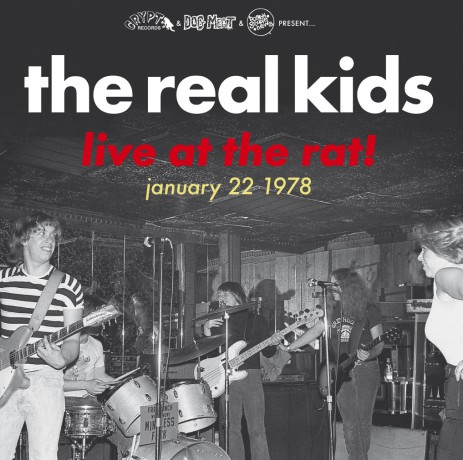 "REAL KIDS ""Live At The Rat! January 22 1978"" Gatefold LP"