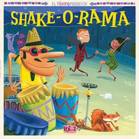 SHAKE-O-RAMA Volume 2 LP+CD