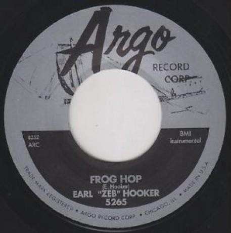"EARL HOOKER FROG HOP / GUITAR RHUMBA 7"""