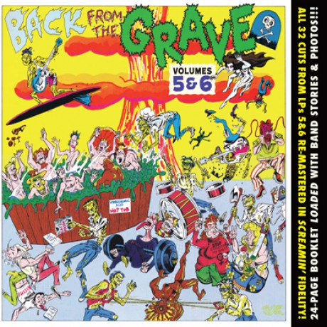 BACK FROM THE GRAVE 5 & 6 CD
