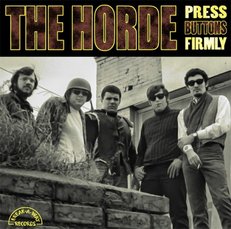 """HORDE """"PRESS BUTTONS FIRMLY""""  LP"""