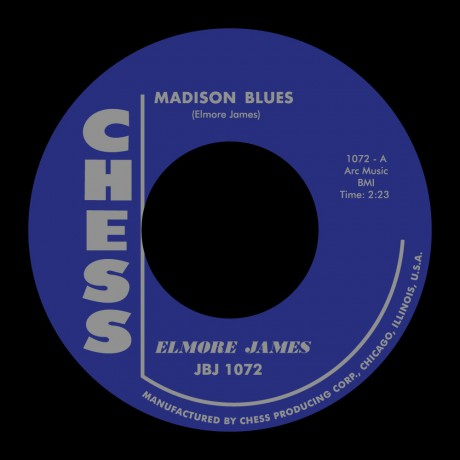 "ELMORE JAMES ""Madison Blues / Stormy Monday Blues"" 7"""