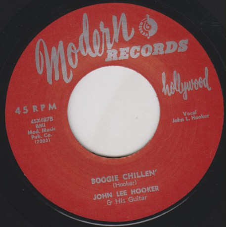 "JOHN LEE HOOKER ""BOOGIE CHILLEN' / SALLY MAY"" 7"""