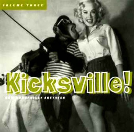 KICKSVILLE Volume 3 CD