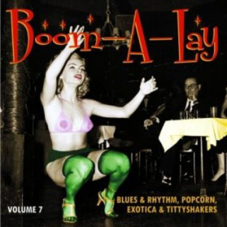 BOOM-A-LAY - EXOTIC BLUES & RHYTHM Vol 7 10""
